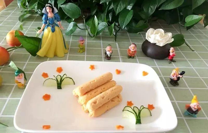 宝宝辅食三文鱼肠做法_儿童护理锡纸-均匀-橙子