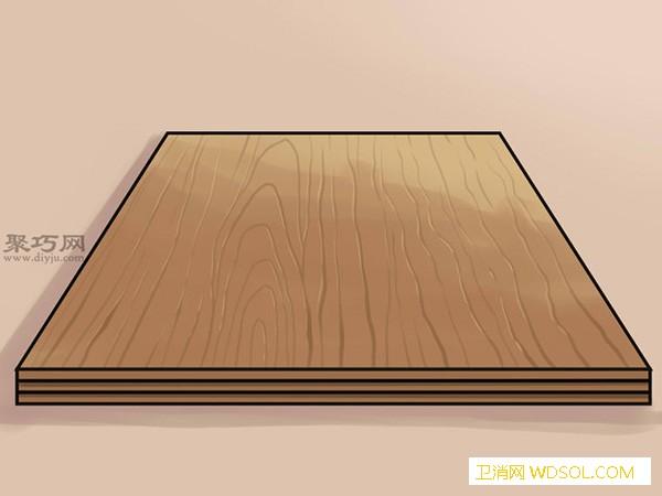 使用传统材料做娃娃屋步骤 来看如何DIY娃娃屋_娃娃-木板-横隔-木板-横隔-墙纸