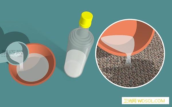 如何用双氧水和洗涤剂去除尿渍去除地_苏打粉-混合液-双氧水-洗涤剂- ()