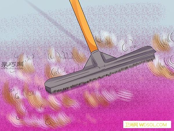 怎么样去除地毯中的臭味一起学清洗地_燕麦片-混合物-清扫-臭味- ()