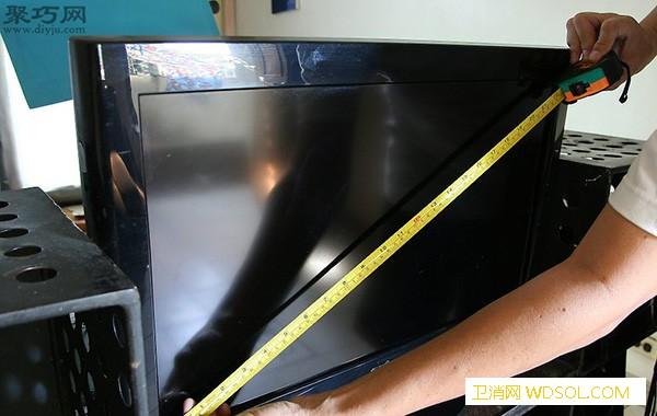 电视机尺寸的测量方法电视机尺寸怎么_卷尺-宽屏-电视机-测量- ()