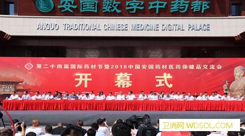 第二十四届国际药材节暨2018中国安国药材医_同仁-三大-交流会-中医药