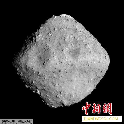 """日本漫游车成功着陆小行星""""龙宫""""正发_龙宫-日本-着陆-"""