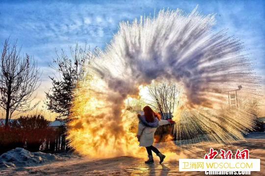 """-36.6℃""""中国北极城""""漠河迎来入_漠河-北极-冰糖葫芦-"""