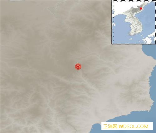 韩国气象厅:朝鲜发生2.8级地震系自_朝鲜-韩国-联社-