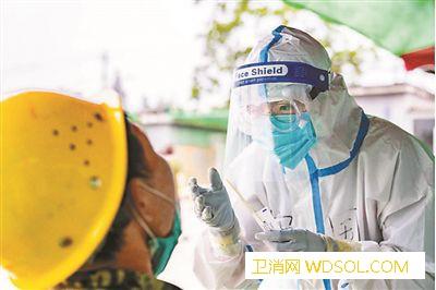 首医大师生志愿者助力全市核酸检测_丰台区-核酸-志愿者-志愿服务